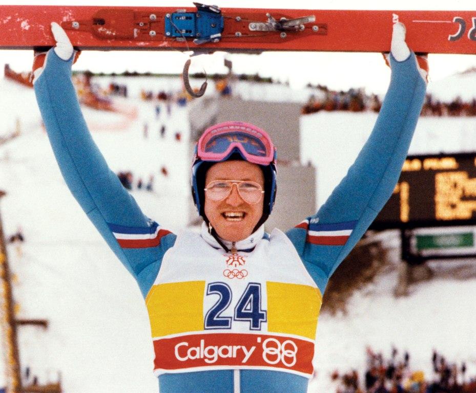 Eddie The Eagle Edwards Calgary 1988