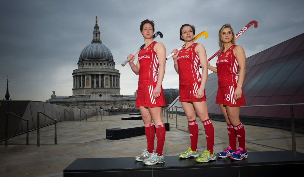 England internationals Hannah Macleod Kate Walsh and Georgie Twigg look ahead to the Investec World League in London this June