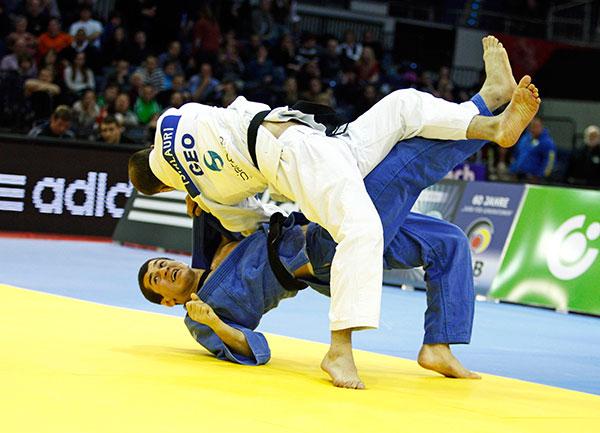 Georgian final Dusseldorf February 24 2013