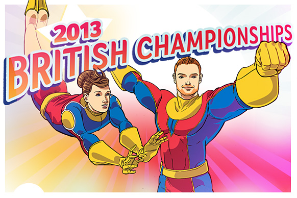 Gymnastics superheroes ready to battle for British titles