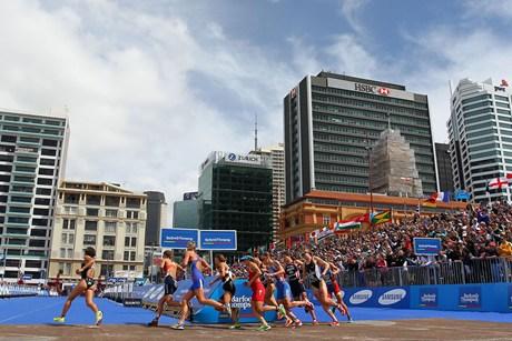ITU World Triathlon Championships Auckland 2012
