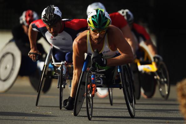 Kurt Fearnley at IPC World Champs 2011 Christchurch