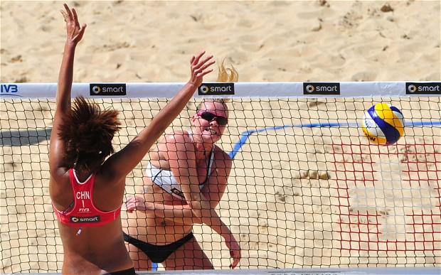 London 2012 beach volleyball