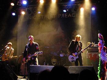 Manic Street Preachers in concert