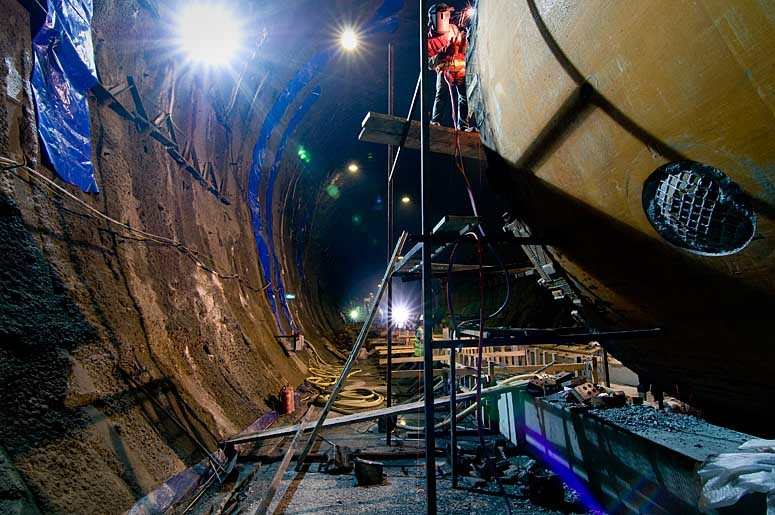 Marmaray rail tunnel
