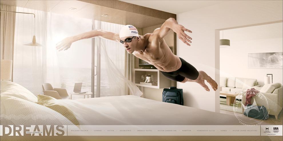 Michael Phelps Hilton