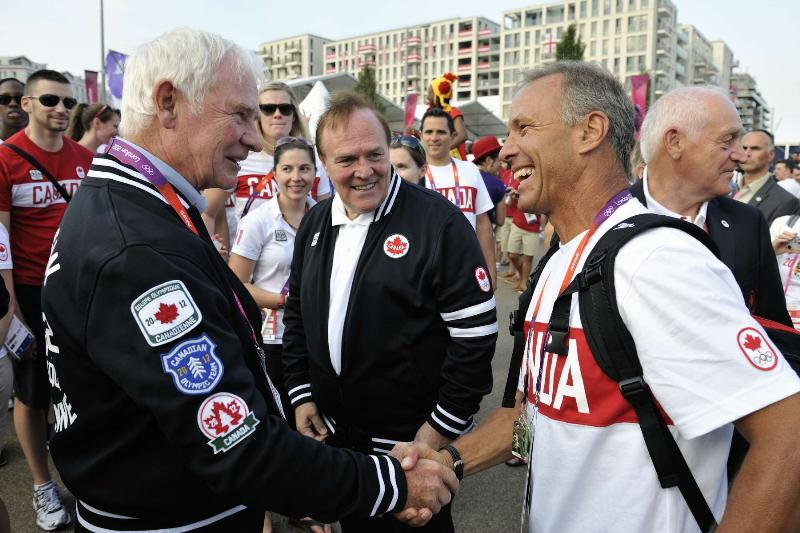 Pierre Lafontaine meeting Canada Governor General