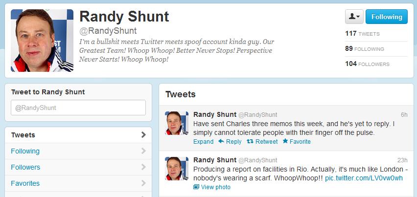 Randy Shunt page