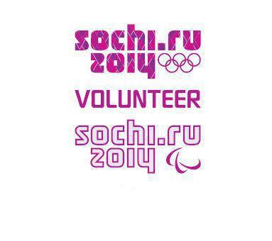 Sochi 2014 volunteer logo