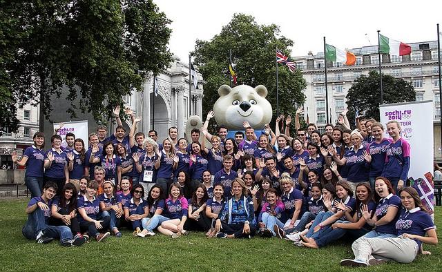 Sochi 2014 volunteers