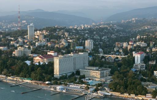 Sochi general view