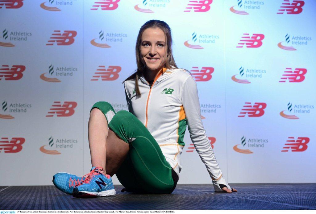 Team New Balance athlete Fionnuala Britton 040213