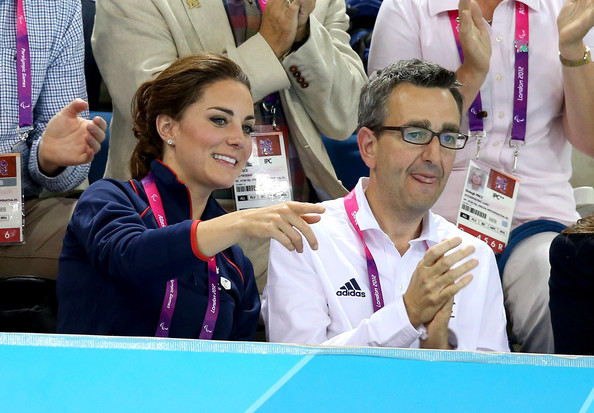 Tim Hollingswoth with Kate Middleton London 2012