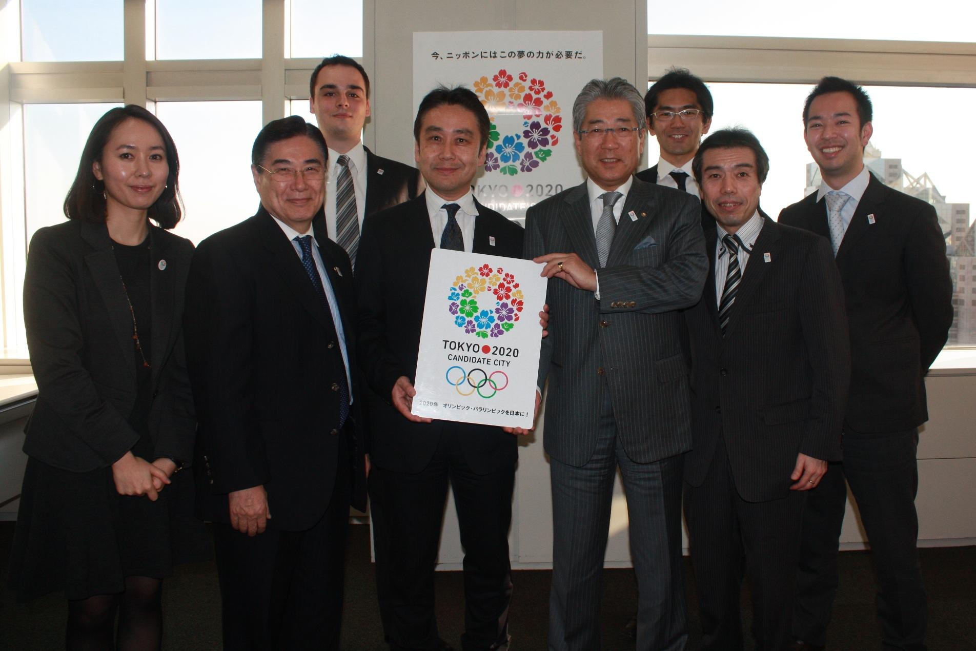 Tokyo 2020 communications team