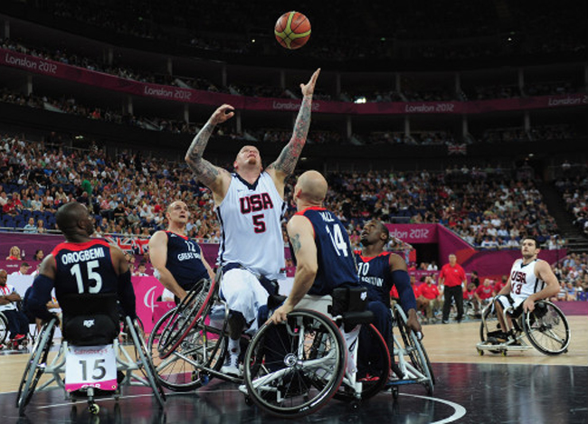US wheelchair basketball
