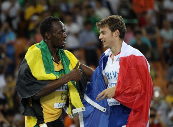 Usain Bolt Christophe Lemaitre 270213