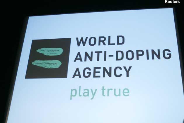 WADA play true logo