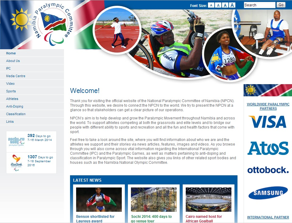namibia website 080213