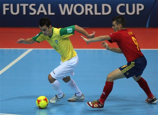 Brazil v Spain Fustal World Cup 2012 2