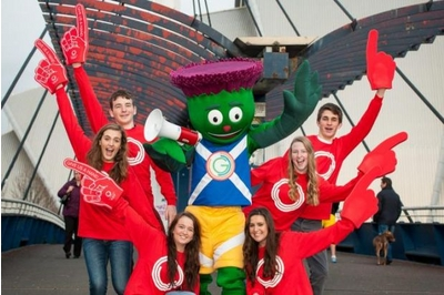 Glasgow 2014 volunteers pic