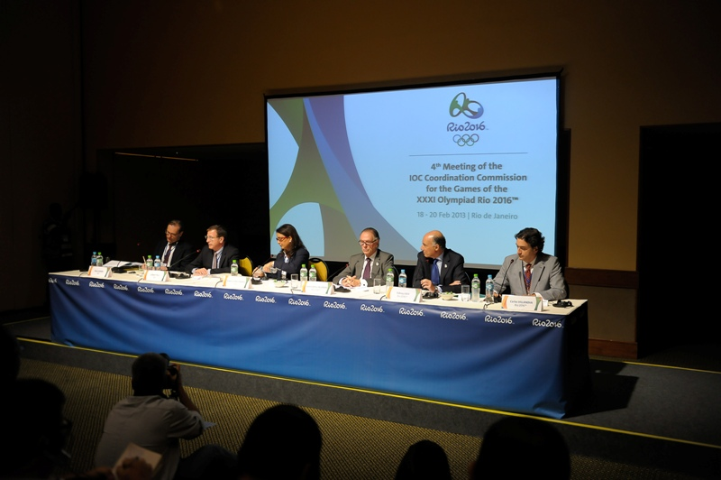 IOC Coordination Commission Rio February 20 2013