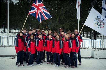 Team GB at Brasov 2013