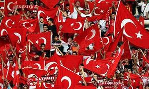 Turkey football fans