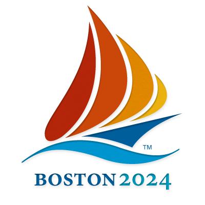 Boston 2024 logo