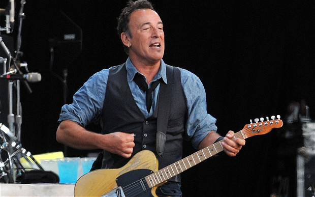 Bruce Springstein in concert