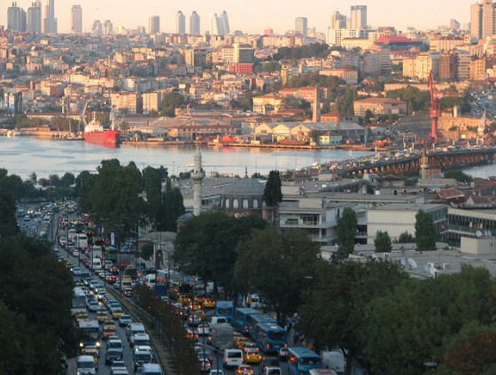 Cars in Istanbul