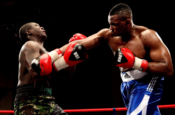 Dillian Whyte of England