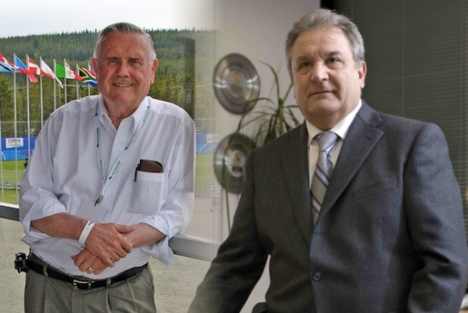 Don Porter and Riccardo Fraccari