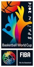 FIBA 2014 Basketball World Cup logo