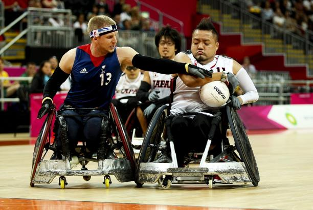 GB wheelchair rugby