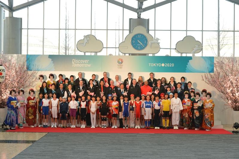 IOC Evaluation Commission Tokyo Big Site visit March 6 2013