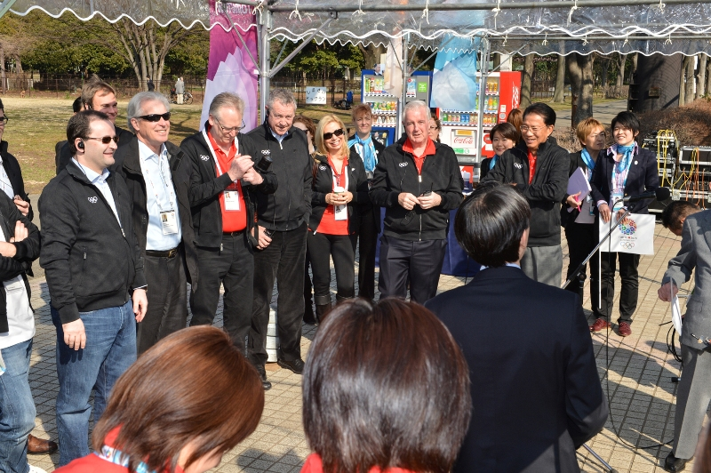 IOC Evaluation Commission Tokyo March 6 2013