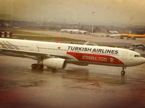 Istanbul 2020 plane