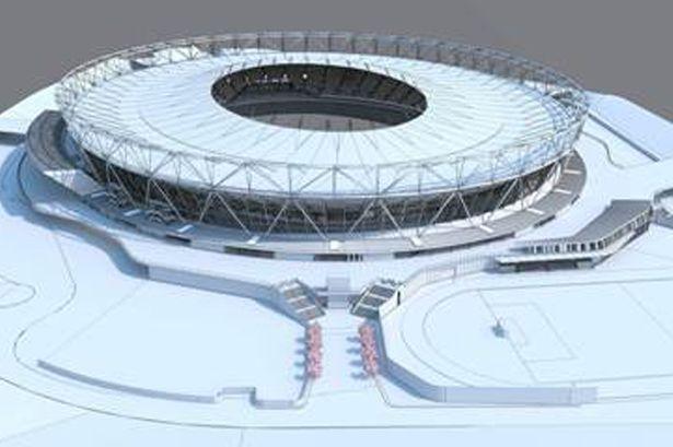 London 2012 Olympic Stadium West Ham outside mode
