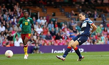 London 2012 female soccer