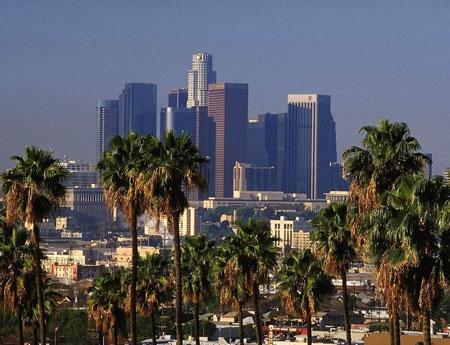 Los Angeles general view
