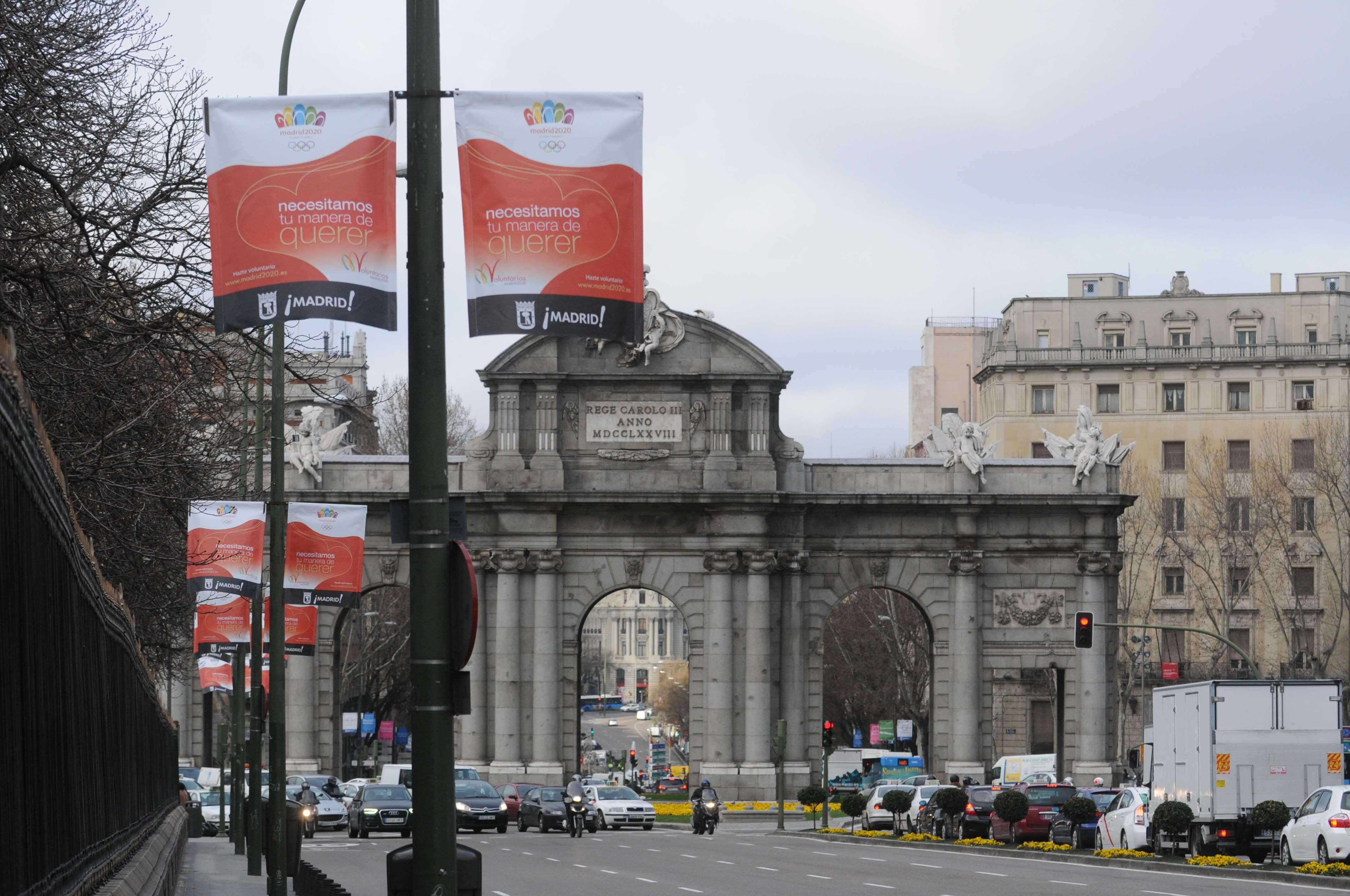 Madrid 2020 decoration of city 1