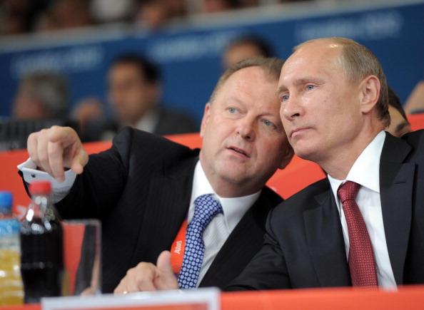 Marius Vizer with Vladimir Putin London 2012