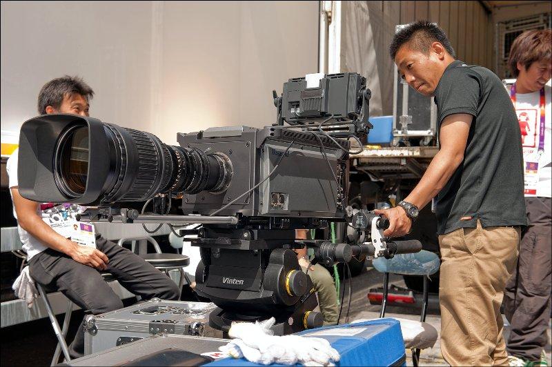 NHK cameramen at London 2012