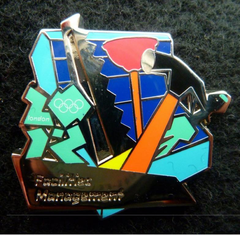 ODA Olympic Facilities Management pin