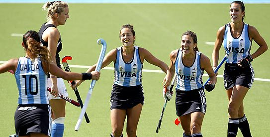 Olympic silver medallists Argentina are headed to London for the Investec World League semi-final