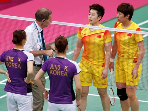 Olympics doubles rules changed for Rio 2016 after match-fixing scandal