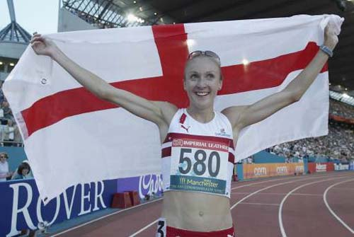 Paula Radcliffe  Manchester 2002