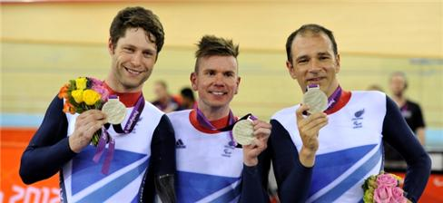 Rik Waddon won the mixed team sprint with Jon-Allan Butterworth and Darren Kenny