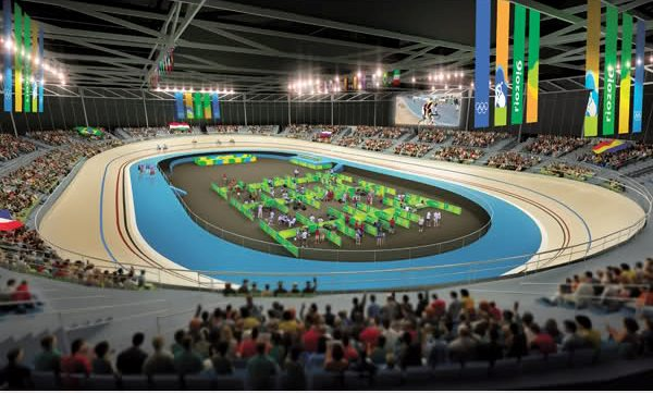 Rio 2016 velodrome 2