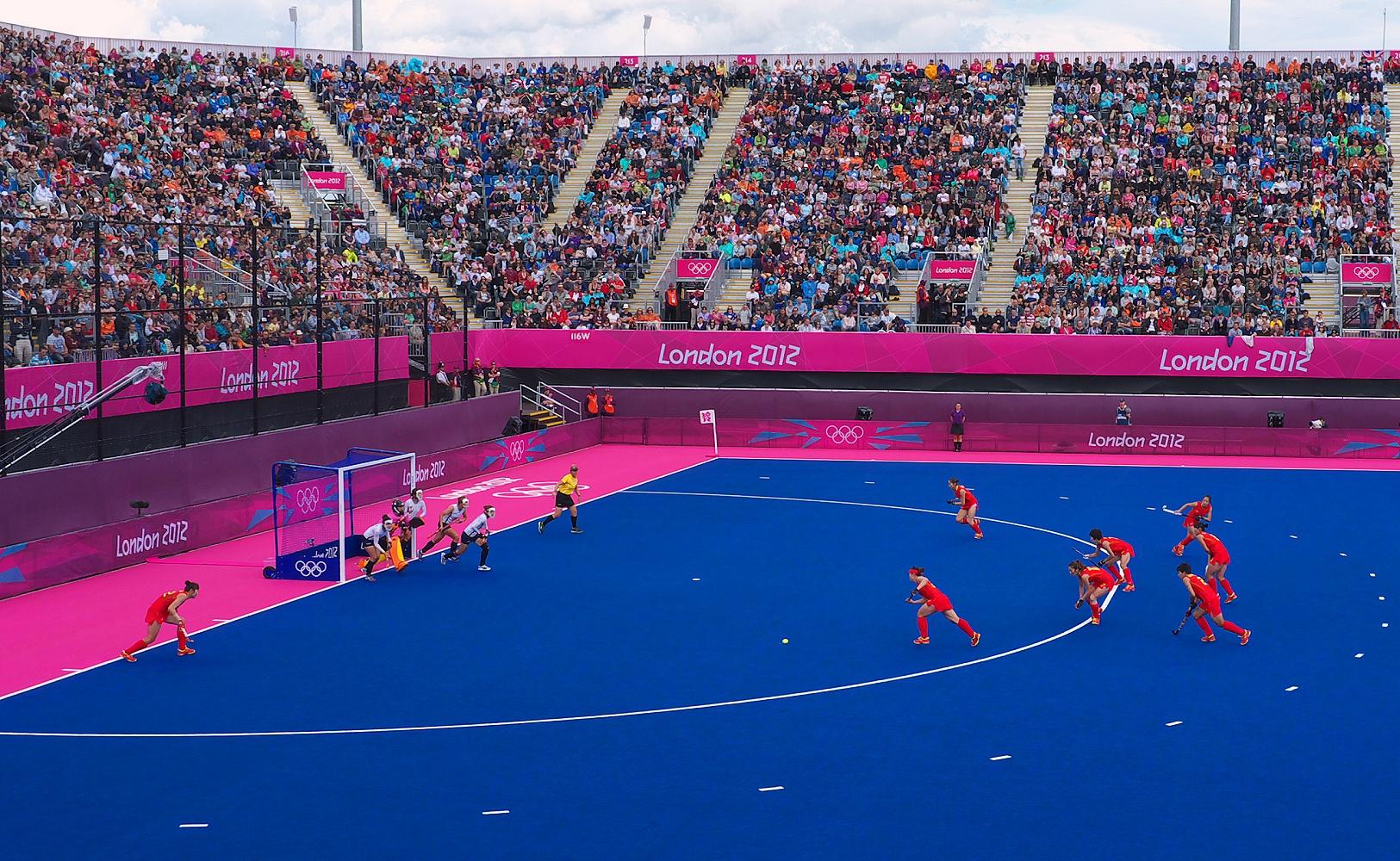 Riverbank Arena London 2012